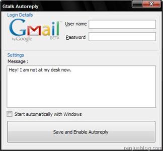 Gmail Messenger